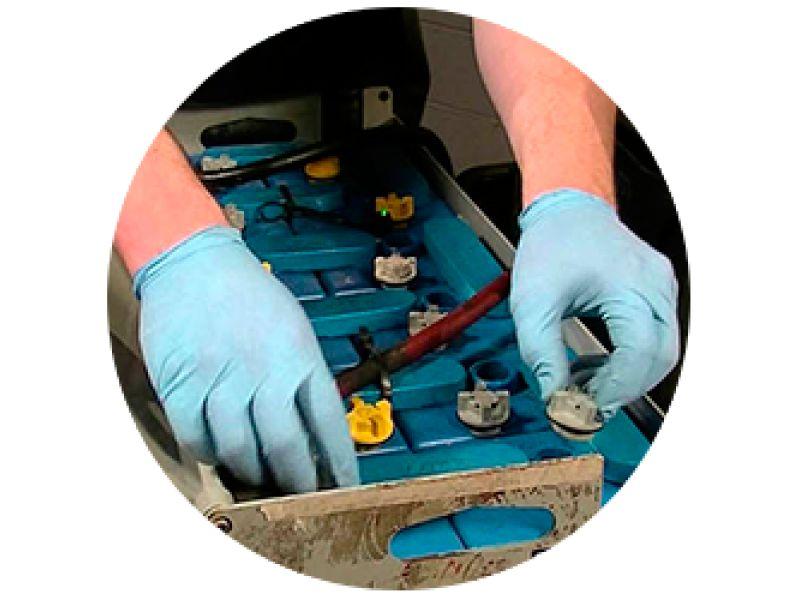 Mantenimiento e Instalacion de Baterias Automotivas